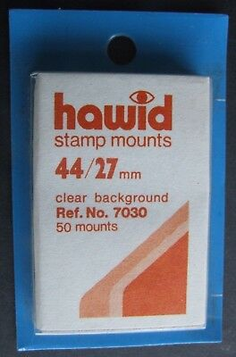 Hawid clear mounts 44 x 27mm pack of 50  or buy 4 of any size and get 1 free