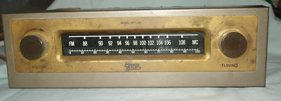 1958 Eico HFT-90 Tube Type Mono Tuner MSG Top of Cabinet-Gd Cosm Cond-Powers Up-