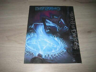 WOD World Of Darkness Inferno Sourcebook Softcover 2009 White Wolf WW55207 VG
