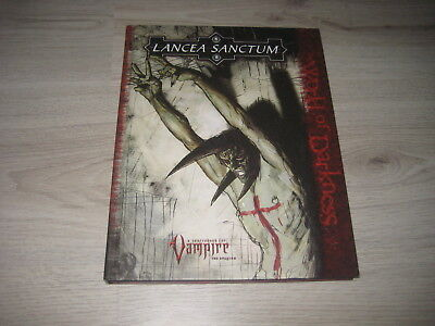 Vampire The Requiem Lancea Sanctum Sourcebook HC White Wolf 2005 WW25001