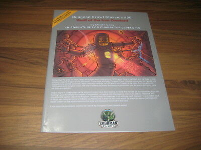 DCC Dungeon Crawl Classics 50 Vault of the Iron Overlord  SX Goodman Games EX