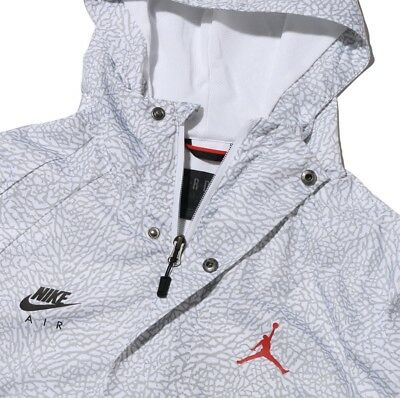 bf61327d4de Air Jordan Sportswear Wings 1988 Anorak Mens Jacket (White/Gym Red/Black)