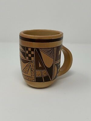 Traditional Hopi Pottery By Artist Eleanor Montano