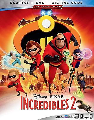 The Incredibles 2 (Blu-ray - 2 Discs, 2018/Feature Film+Bonus Disc)