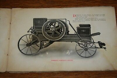 1910s Domestic Gasoline Engines Sales Catalog Hit n Miss Gas Engines