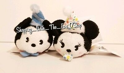 Authentic Disney World Disney Tsum Tsum Mickey Minnie 90th anniversary SOLD OUT