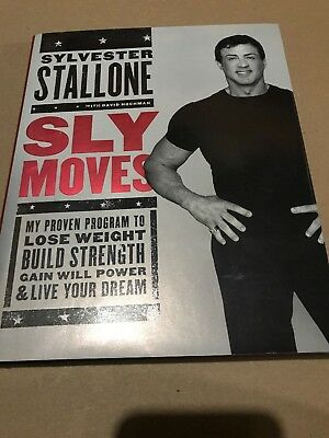 signed sylvester stallone Book