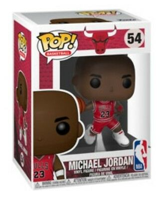 Michael Jordan Funko Pop! Nba: Chicago Bulls 54 Preorder Air 23 Jersey Slam Dunk