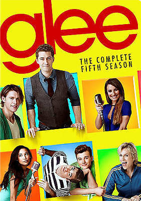Glee: The Complete Fifth Season 5 Five (DVD, 2015, 6-Disc Set) - NEW!!