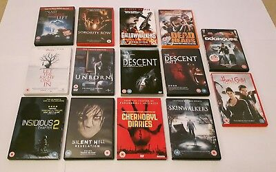 DVD Bundle - Horror - Paranormal - Zombie