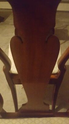 Need Gone Now! Hickory Chair Co Queen Anne Style Mahogany Wood Dining Room Chair