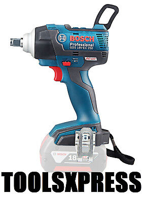 "Bosch Gds 18V-Ec 250 18V Li-Ion Cordless Brushless Impact Wrench 1/2""- Tool Only"
