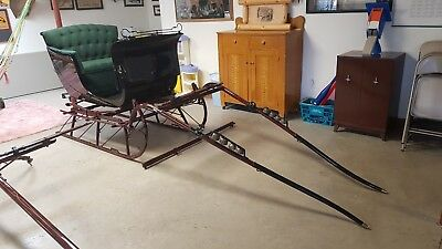 Antique Restored 19th Century Horse Drawn Sleigh