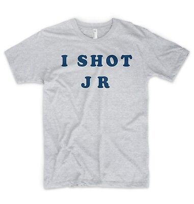 I Shot J R JR T Shirt  Retro 80's 90's Fancy Dress Father Ted Irish Comedy