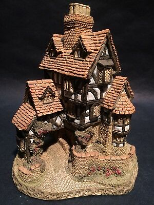 1985 Squires Hall David Winter Cottages Hand Made & Painted England w/ COA