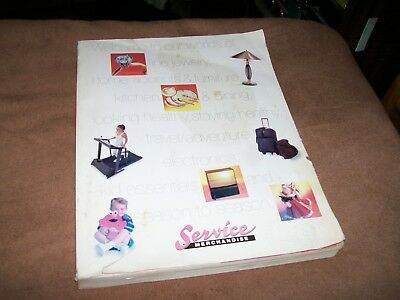 1997-1998 Service Merchandise General Merchandise Catalog Store Showroom