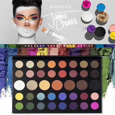 Morphe X James Charles Inner Artist 39 Pressed Eye Shadow Palette Make-Up Hot