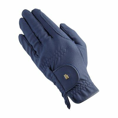 Roeckl Grip Unisex Gloves Competition Glove - Navy All Sizes