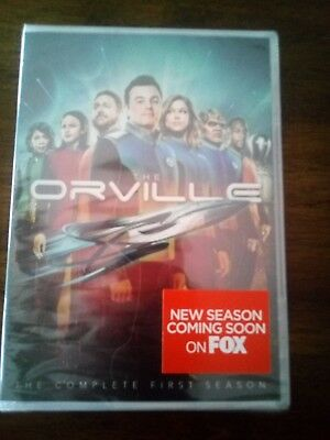 The Orville Season 1 Dvd 4 disc set