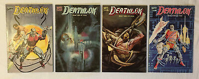 DEATHLOK GRAPHIC NOVELS 1 2 3 & 4 Lot of 4 Complete Set Marvel Comics