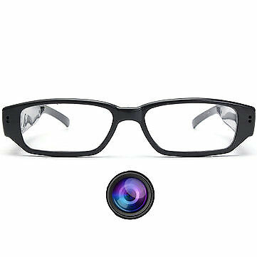 HD Glasses Hidden Camera Covert Eyewear Cam Video Recorder DVR Camcorder