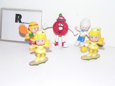 RARE Vintage 1980's REMCO LIFESAVERS SCENTED MINI DOLLS LOT of 5
