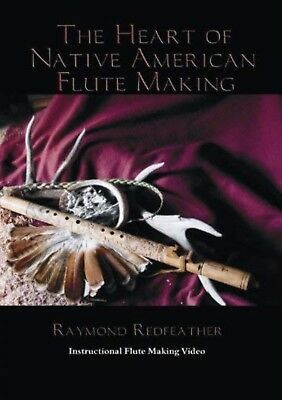 native american flute making DVD/raymond Redfeather