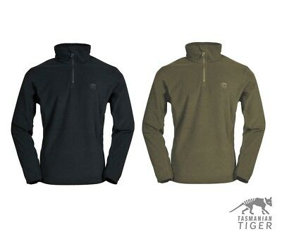 Tasmanian Tiger Idaho 7653 1/4 Zip Fleece Pullover Base Layer Patrol Norgie