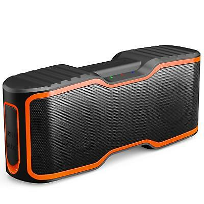 Aomais Sport Ii Portable Wireless Bluetooth Speakers 4.0 Waterproof Ipx7, 20W Ba