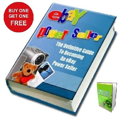 eBay Power seller guide PDF eBook with Master Resell Rights MRR + FREE 1 EBOOK