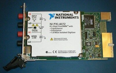 NI PXI-4072 6½-Digit DMM LCR 1.8MS/s Digitizer, National Instruments *Tested*