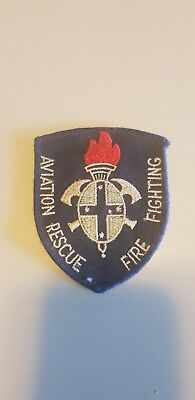 aviation  rescue fire fighting  patch