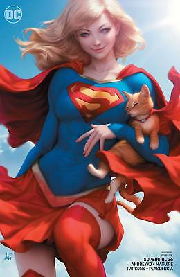 Supergirl #26 Artgerm Variant - Dc Universe - Release Date 16/01/19
