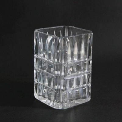 GERMANY   Art Deco crystal glass vase 5 inches (ca 1925/1930)