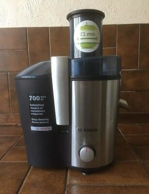 Bosch whole fruit Juicer MES3000GB 700w in original box