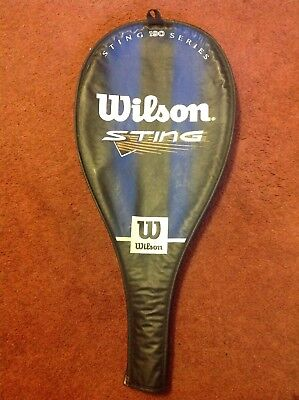 Wilson Sting Squash Racket Cover. Used Excellent Condition