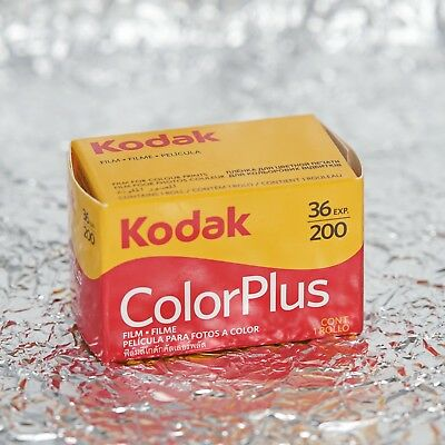 *NEW* Kodak ColorPlus Color Plus 35mm (36 exposures) film (1/2021)