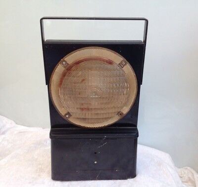 Vintage New South Wales Government Railway Safety Signal Lantern Train NSWGR