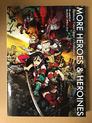 More Heroes and Heroines Japanese Video Game and Animation Illustration