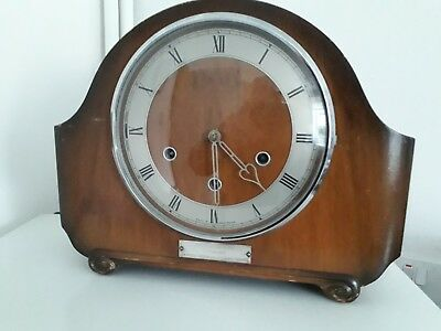 British Rail Presentation Smiths Westminster Chime Clock
