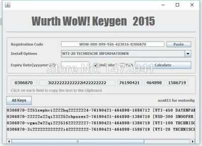 Keygen Activation Wow 5.00.8 - 5.00.12