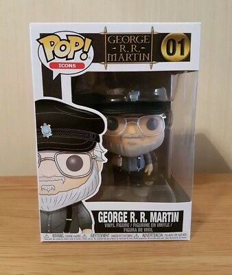 Funko POP Game Of Thrones - George R. R. Martin Exclusive!