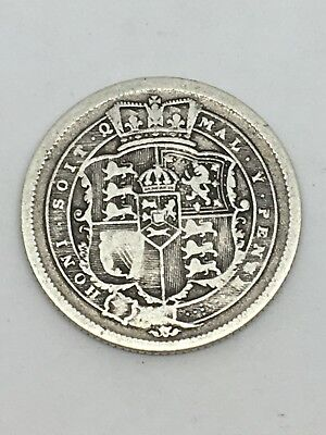 1816 George III Silver Sixpence 6d Coin