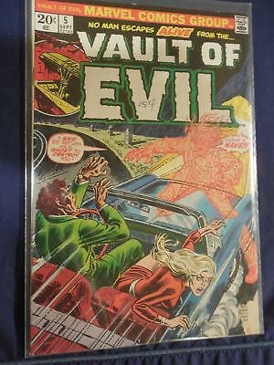 Marvel Vault of Evil Comic #5 Very Fine -