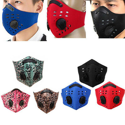 Anti-dust Half Face Anti-Pollution Mask Mouth-Muffle Respirator Cycling Scarf