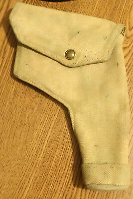 WWII British Webley Canvas Holster