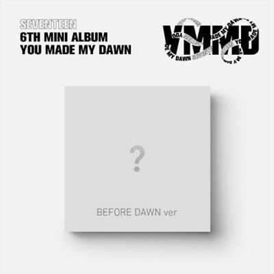 "SEVENTEEN 6th Mini Album ""YOU MAKE MY DAWN"" BEFORE DAWN CD+Photobook+Card+etc"