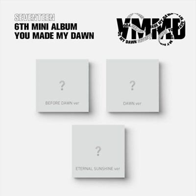 "SEVENTEEN 6th Mini Album ""YOU MAKE MY DAWN"" Random CD+Photobook+Card+Poster+etc"