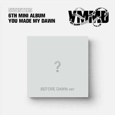 "SEVENTEEN 6th Mini Album ""YOU MAKE MY DAWN"" BEFORE DAWN CD+Photobook+Card+Poster"