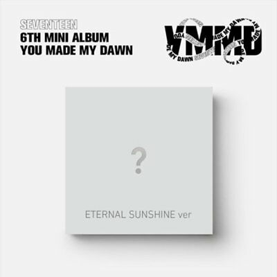 "SEVENTEEN 6th Mini Album ""YOU MAKE MY DAWN"" ETERNAL SUNSHINE CD+Book+Card+Poster"